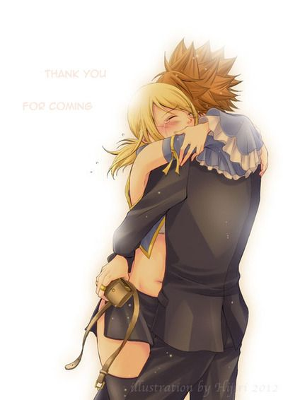 LOKExLUCY - I don't ship them, but they are pretty cute. Plus, Loke is adorable. :D