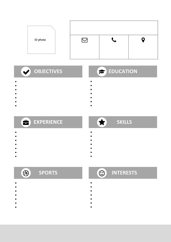 26 best Modern \ Creative resume templates images on Pinterest - resume templates for college