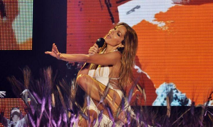 Η Δέσποινα Βανδή στις πρόβες για τα Mad Video Music Awards 2014! #greekmusic