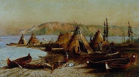 Les Algonquins et les Iroquoiens vers 1500