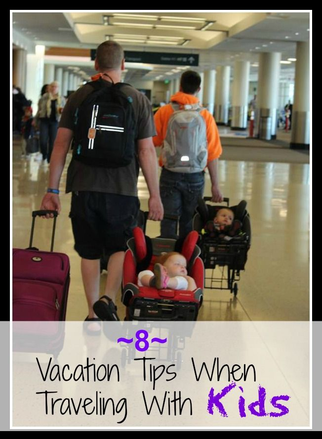 Travel & Vacation Tips for Traveling With Kids. Ideas for making your trip with babies or kids less stressful and more organized.