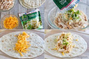 How to make Grilled Chicken and Broccoli Burritos