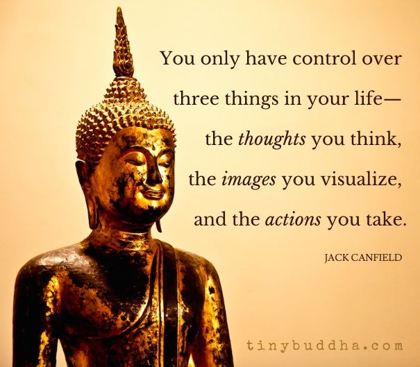 Three things you can control