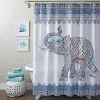 Free Shipping. Buy Thumbprintz  Funky Hummingbird Shower Curtain at Walmart.com