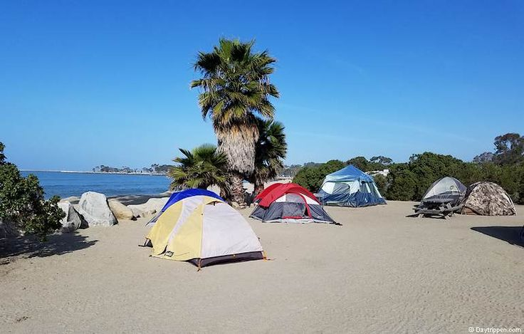 Beach Tent Campgrounds Near Me