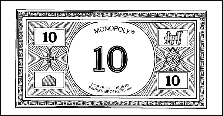 monopoly money templates - monopoly money template monopoly money image belir unique