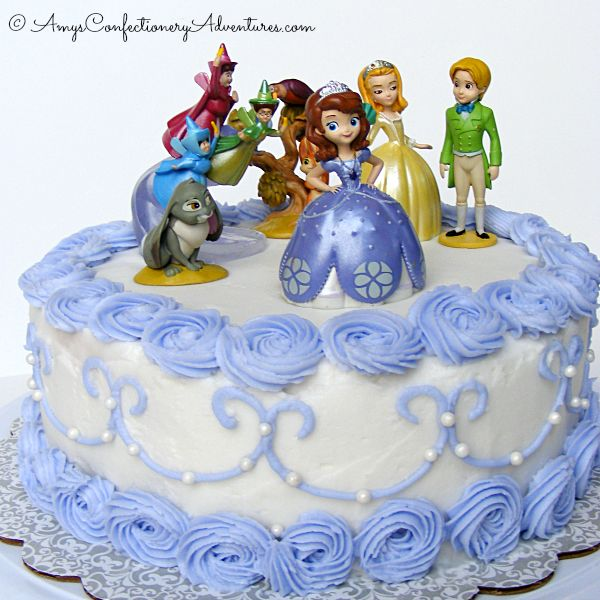 Amy's Confectionery Adventures: Sofia the First Cake