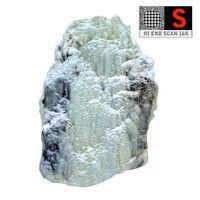 icefall phenomenon nature 3d model