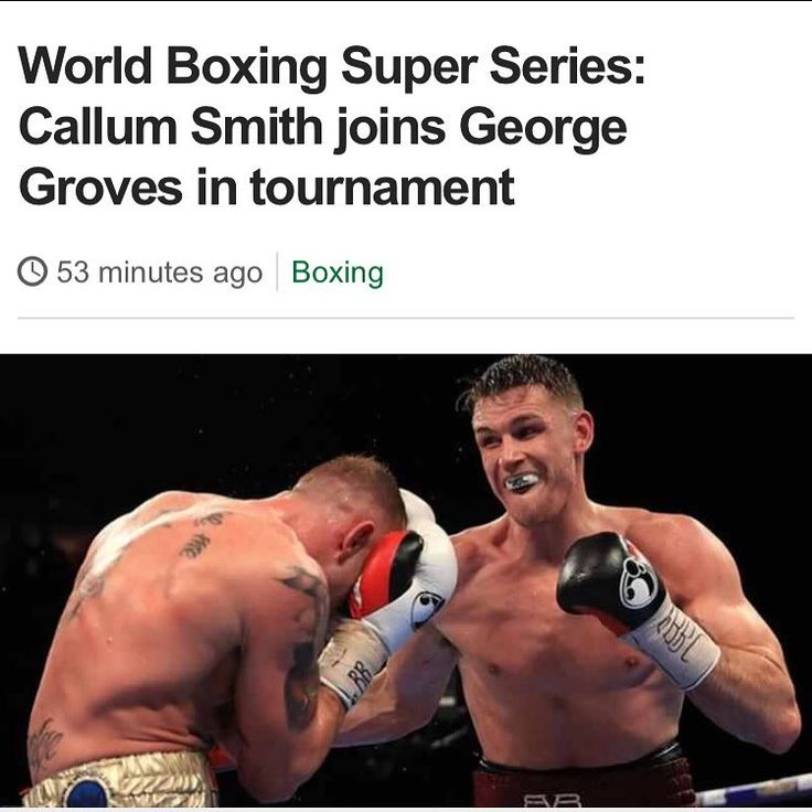 So Callum smith has dropped the fight with Direll to join in with the world super boxing series.  That's a big decision and there's some tough fights with Britains Jamie cox who's undefeated and Saint George groves is also in the super middle weight tournament. Winner gets shares in $50 million dollars. Who's your pic for the winner.