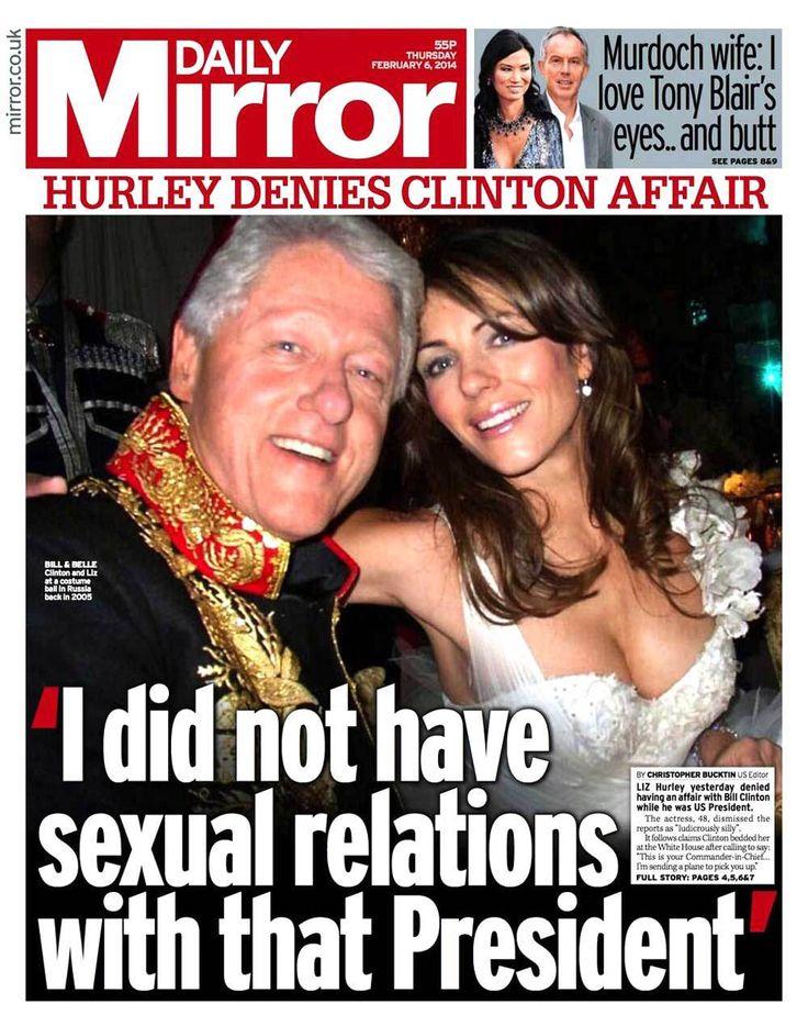 Bill Clinton's Latest Girlfriend | old Controversy – Bill Clinton & Liz Hurley Photos! | Kepolicio.us!