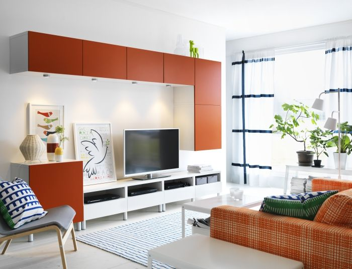 Enjoy the view, even when the TV is off. Gaming, online movies, internet browsing…cut the clutter and get things prettied up with BESTÅ.