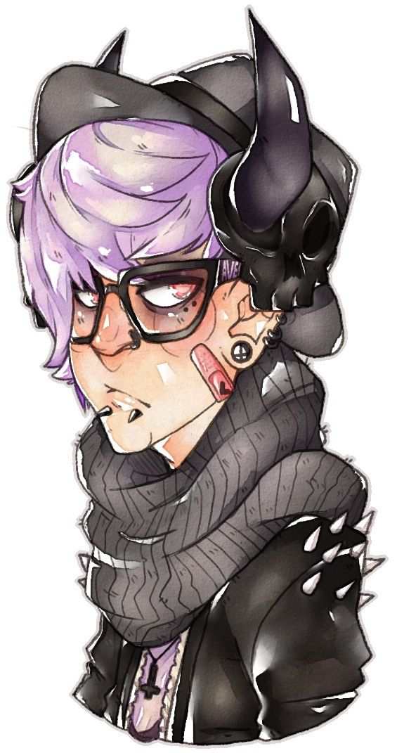 A mix of hipster, Punk, and Pastel Goth. Simply amazing.