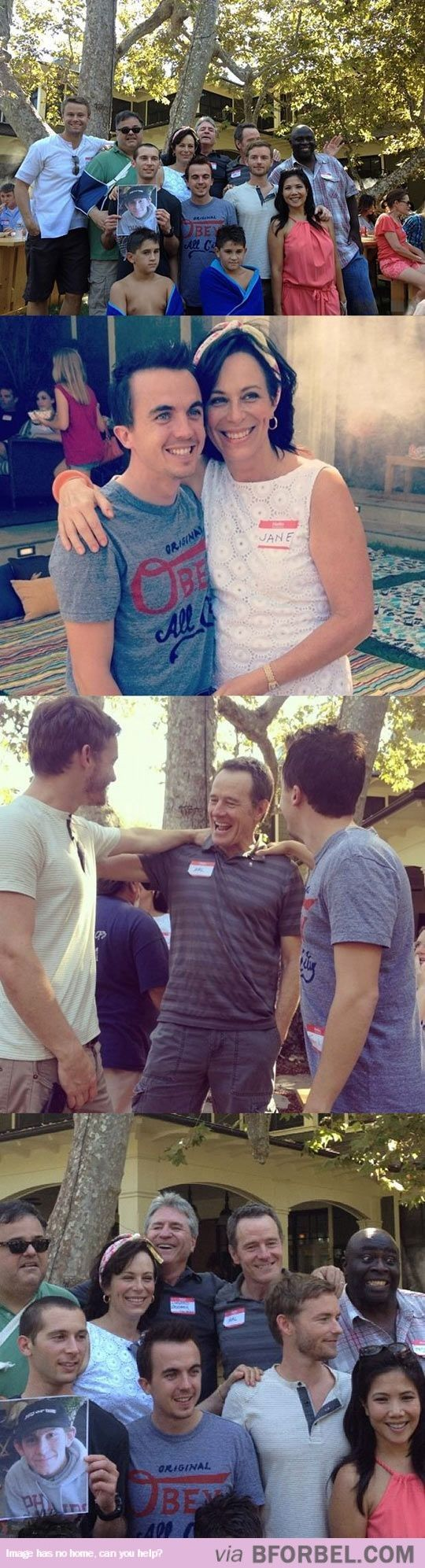 The Malcolm In The Middle Cast Reunion…