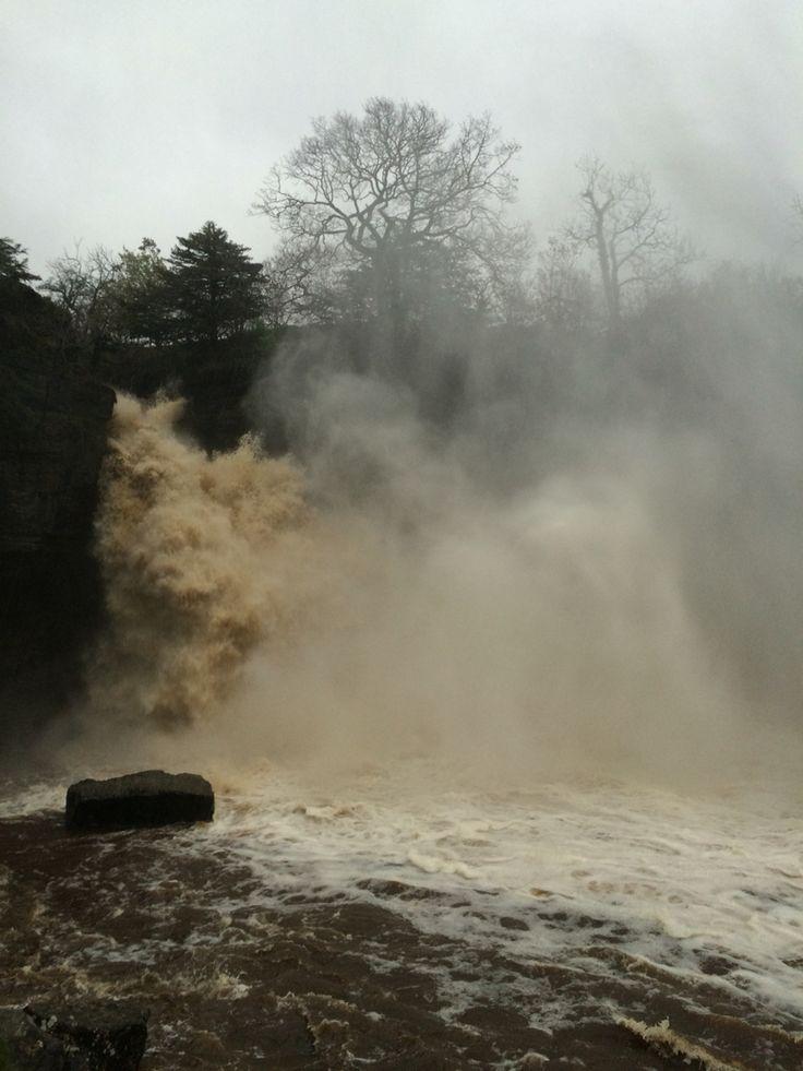 Thornton force in full flood