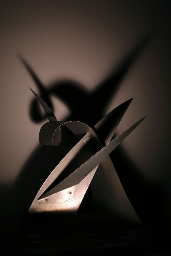 """""""Calder Shadows"""" Exhibit in NYC Showcases The Artist's Work in Darkness... You're used to seeing Alexander Calder statues in outdoor places, but what about in the dark"""