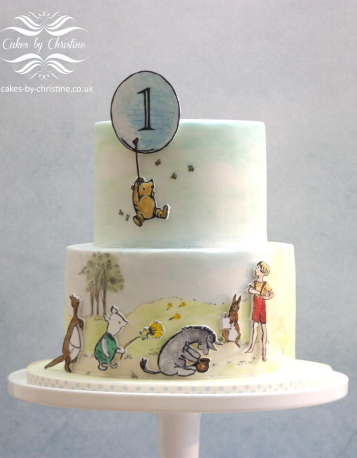 Winnie the Pooh by Cakes by Christine