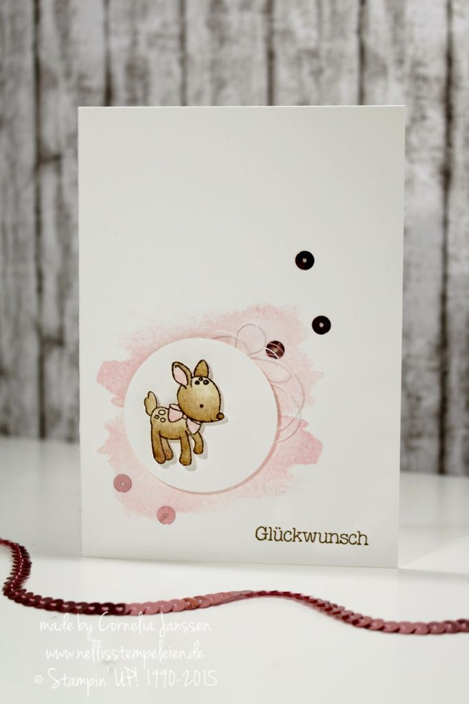 Zum Nachwuchs - Stampin' UP!  Made with love