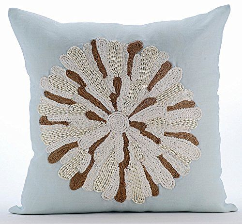 Light Blue Throw Pillows Cover for Couch, Beaded & Jute D... https://www.amazon.com/dp/B01645ZUEA/ref=cm_sw_r_pi_dp_x_mKkcyb0YY0QSF