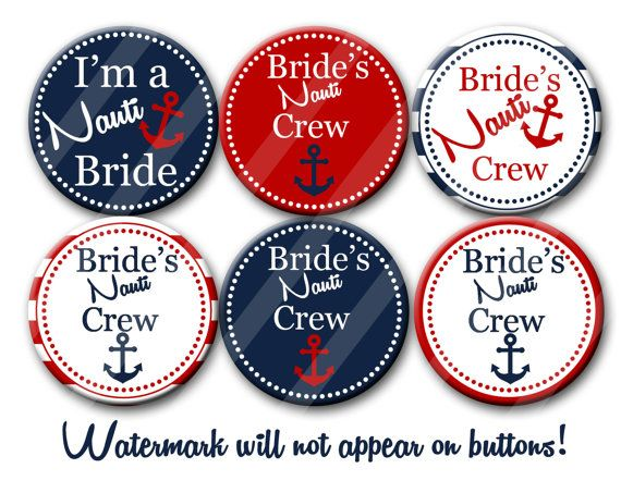 Nautical Bachelorette Bridal Shower Party by PutOnYourPartyCap, $12.00
