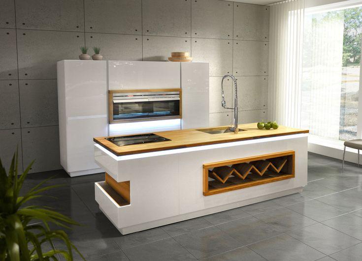 Line - Kuchnie nowoczesne - D