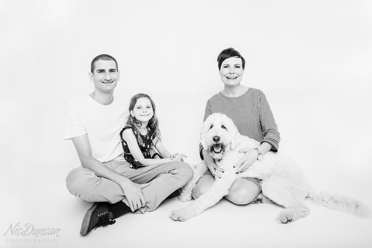 Albany family studio session