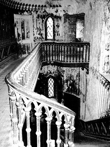 Charleville castles haunted staircase by Flash This, via Flickr