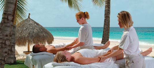 Divi Aruba Spa! The massage I got on the beach here was by far the BEST massage I got anywhere!!!