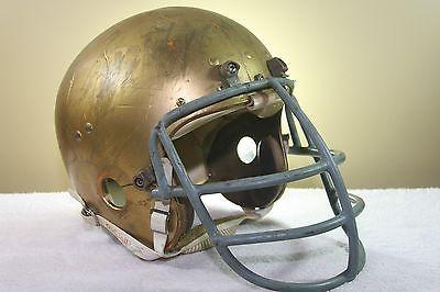 NOTRE DAME IRISH Vintage Game Worn Used WILSON F2000 JEFF WESTON Football Helmet