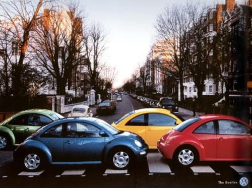The Beatles. Clever.: Punch Buggy, The Beatles, Vw Beetles, Abbey Roads, Volkswagen Beetles, Cars, Funny, Vwbeetles, Abbeyroad