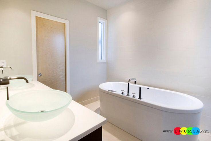 Bathroom:Decorating Modern Summer Bathroom Decor Style Tropical Bath Tubs Ideas Contemporary Bathrooms Interior Minimalist Design Decoration Plans Simple Style In A Minimalist Bathroom Cool and Cozy Summer Bathroom Style : Modern Seasonal Decor Ideas