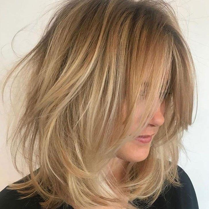 20 Besten Frisuren Fur Dunnes Haar Um Volumen Zu Steigern Sieh Es Jetzt Besten Dunnes Frisuren Steiger Hair Styles Thin Hair Haircuts Medium Hair Styles