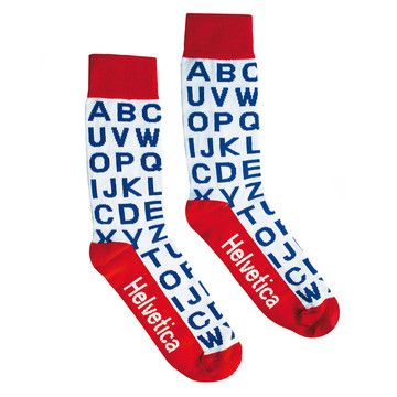 Helvetica Socks now featured on Fab.