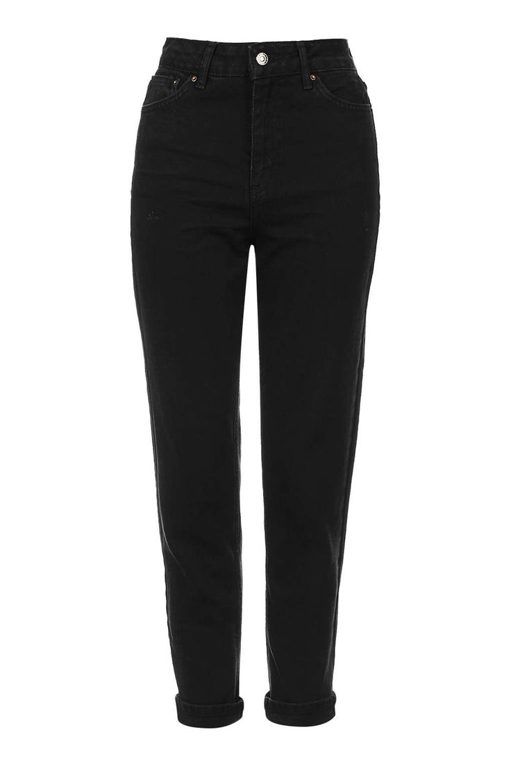MOTO Black Mom Jeans - Topshop USA