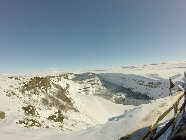 My trip to Iceland #GoPro #Photography #travel #winter #waterfall