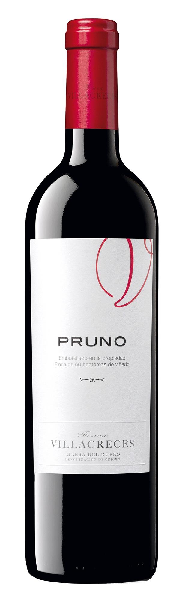 Pruno 2011 Viña Villacreces. Ribera del Duero. Wine of Spain