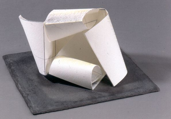 Anthony Caro: Paper Sculpture No. 24