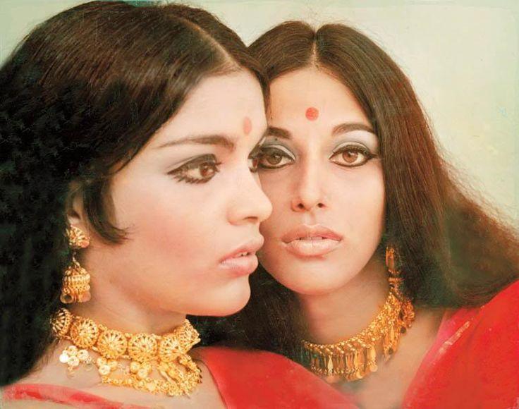 Zeenat Aman & Shobha De a photo from the early 1980s. - ♥ Rhea Khan