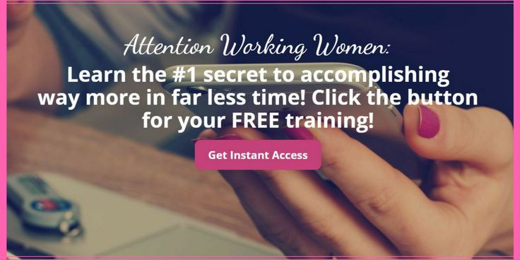 Productivity   Learn the Number 1 Secret to Accomplishing Way More in Far Less Time! Click the button for your FREE training!