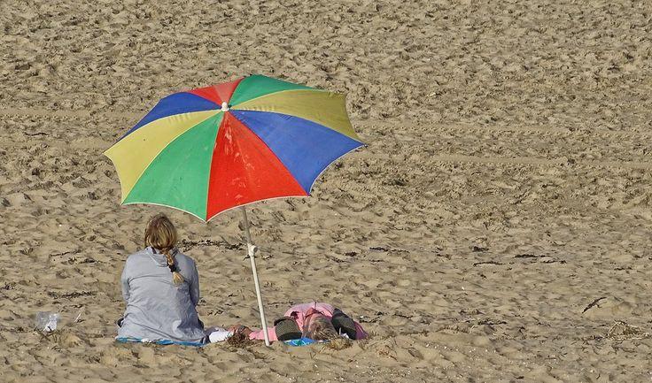 Lekker #strandweer vandaag! Op veel plaatsen is het al meer dan 20 graden!