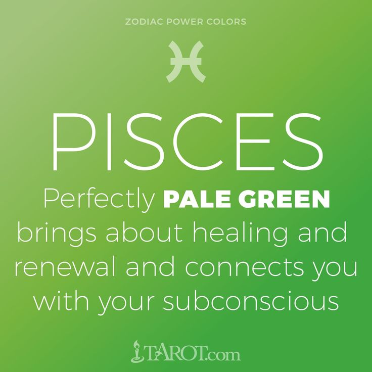 Pisces Power Color: Light green