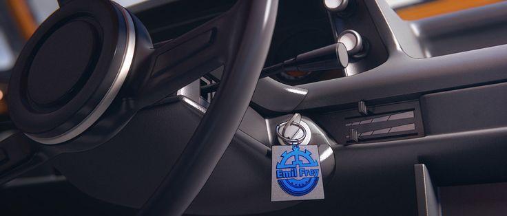 BMW X5 le spot de publicité en animation 3d réalisé sur blender 3d le logiciel open source