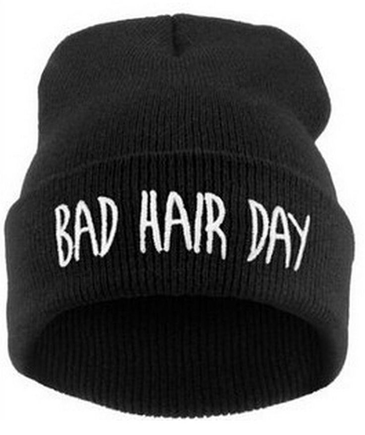 touca gorro bad hair day unissex 7e3ec529334