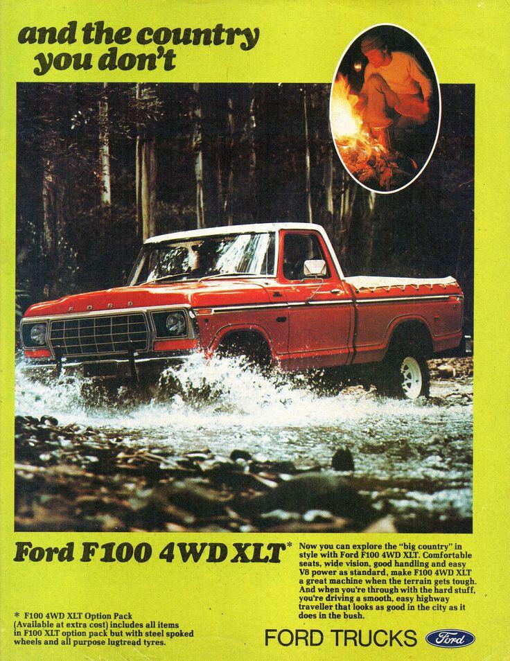 https://flic.kr/p/WfCobS | 1978 Ford F100 XLT & F100 4WD XLT Page 2 Aussie Original Magazine Advertisement