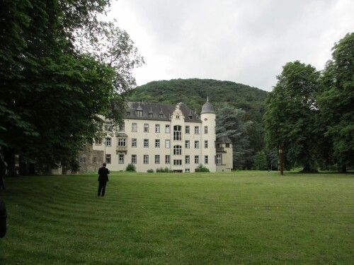 Looking from front gate to the castle