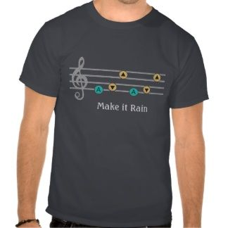 Make it Rain Tee Shirts