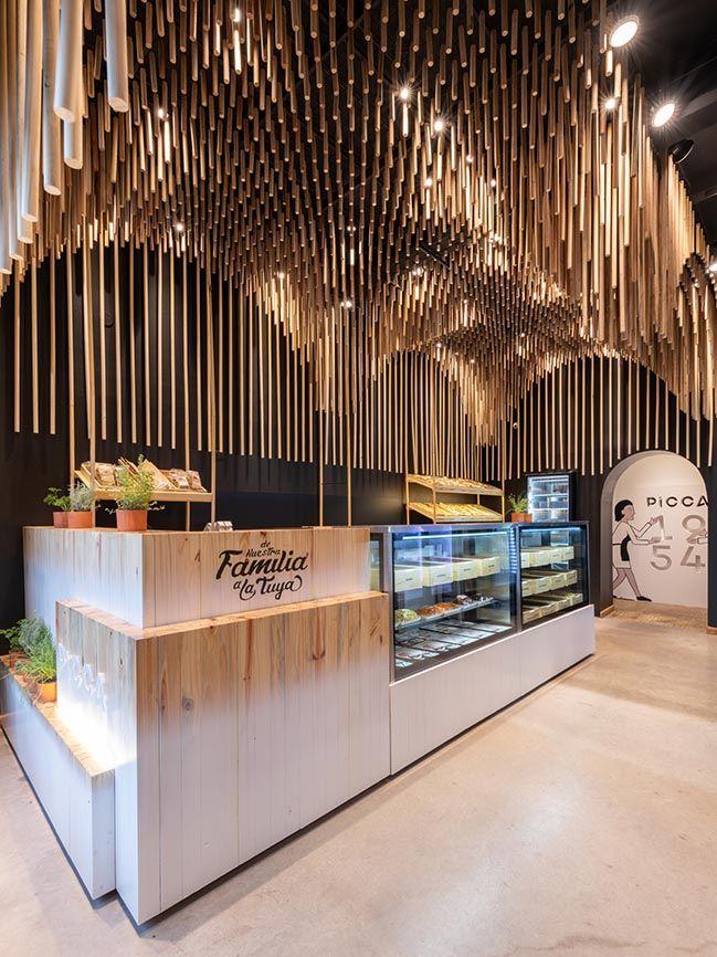 Picca By Efeeme Arquitectos Restaurant Interior Design Cafe Interior Design Restaurant Interior