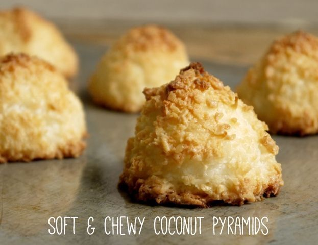 These heavenly Soft and Chewy Coconut Pyramids contain only 4 ingredients and are naturally dairy and gluten free. The best recipe ever! The Hedgecombers