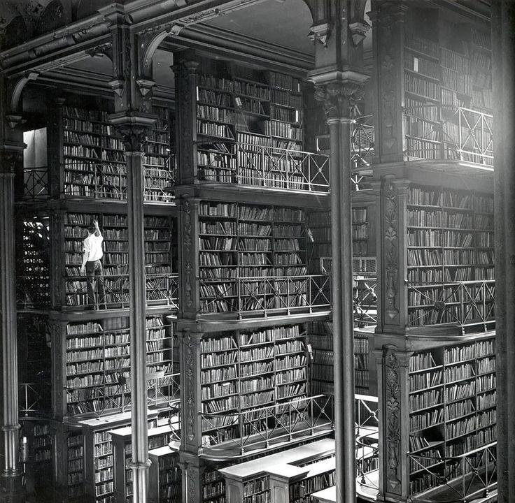 Vieille bibliothèque publique de Cincinnati (Ohio, USA