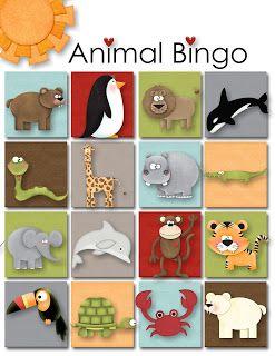 Its All Good: Sunbeam Lesson I Am Thankful for Animals: Animal Bingo