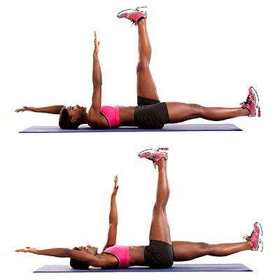Ultimate CORE-STRENGTHENING and #BELLY-FLATTENING move: The Alternating Bug   health.com